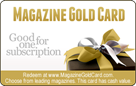 Magazine Gold Card